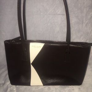 """Vintage Brown with white """"K"""" Kate Spade Purse"""